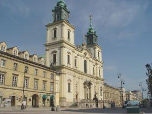 Fot.5. Bazylika Świętego Krzyża , Warszawa