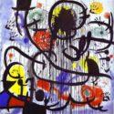 Fot. 1. May 1968. 1973. Acrylic on canvas. 200 x 200 cm. Fundació Joan Miró, Barcelona, Spain,