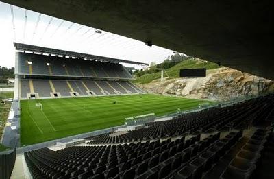 Souto de Moura, Stadion piłkarski w Bradze, Fot.NACHO DOCE REUTERS