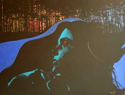 Fot.4 Antoni Fałat, Wieczór, 100x130cm, 2009, Galeria Sztuki Katarzyny Napiórkowskiej