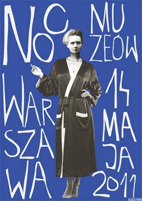 Fot.3 II miejsce w konkursie na plakat tego rocznej Nocy Muzeów, wyk. Marta Dąbrowska