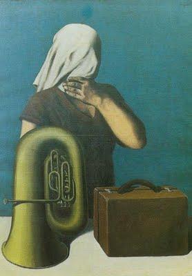 fot.4. Rene Magritte, L'histoire centrale, 1928