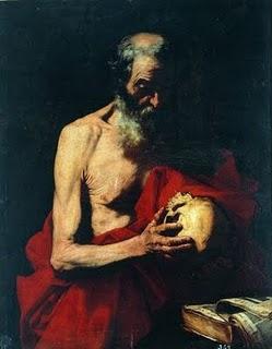 Jose De Ribera Medytacja Sw Hieronima
