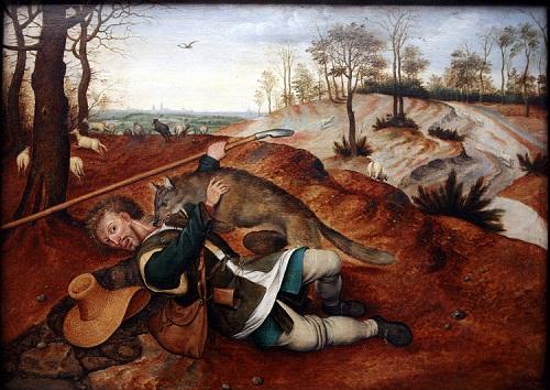 Pieter Brueghel Mlodszy Dobry pasterz