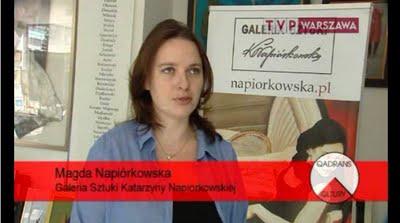 Magda Napiorkowska w Qadransie Kultury