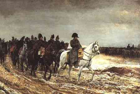 Meissonier Kampania Napoleona