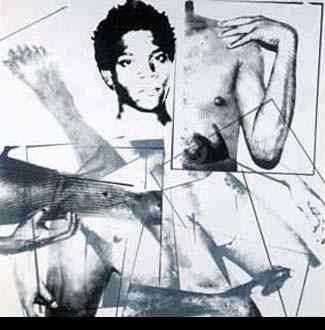 Warhol Portret Basquiata