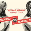 Pablo Picasso vs Marcel Duchamp w Moderna Museet w Sztokholmie