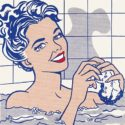 r. lichtenstein woman in bath 1963 museo thyssen-bornemisza